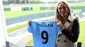 England's Duggan the latest big signing for Man City