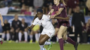 Fields scores twice, lifts FSU into College Cup final