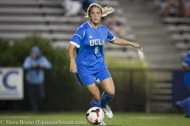 Abby Dahlkemper is one of six members of UCLA's 2013 national championship team that will compete in Sunday's NWSL Championship (Photo Copyright Steve Bruno for The Equalizer)