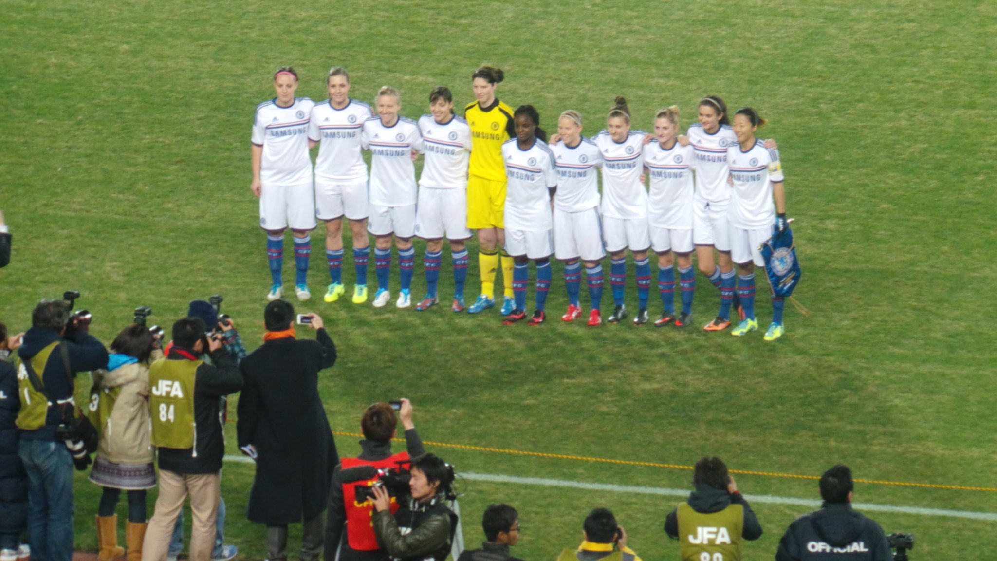 Chelsea Ladies are through to the Mobcast final after beating Sydney FC on Wednesday. (Photo Courtesy Chelsea Ladies)