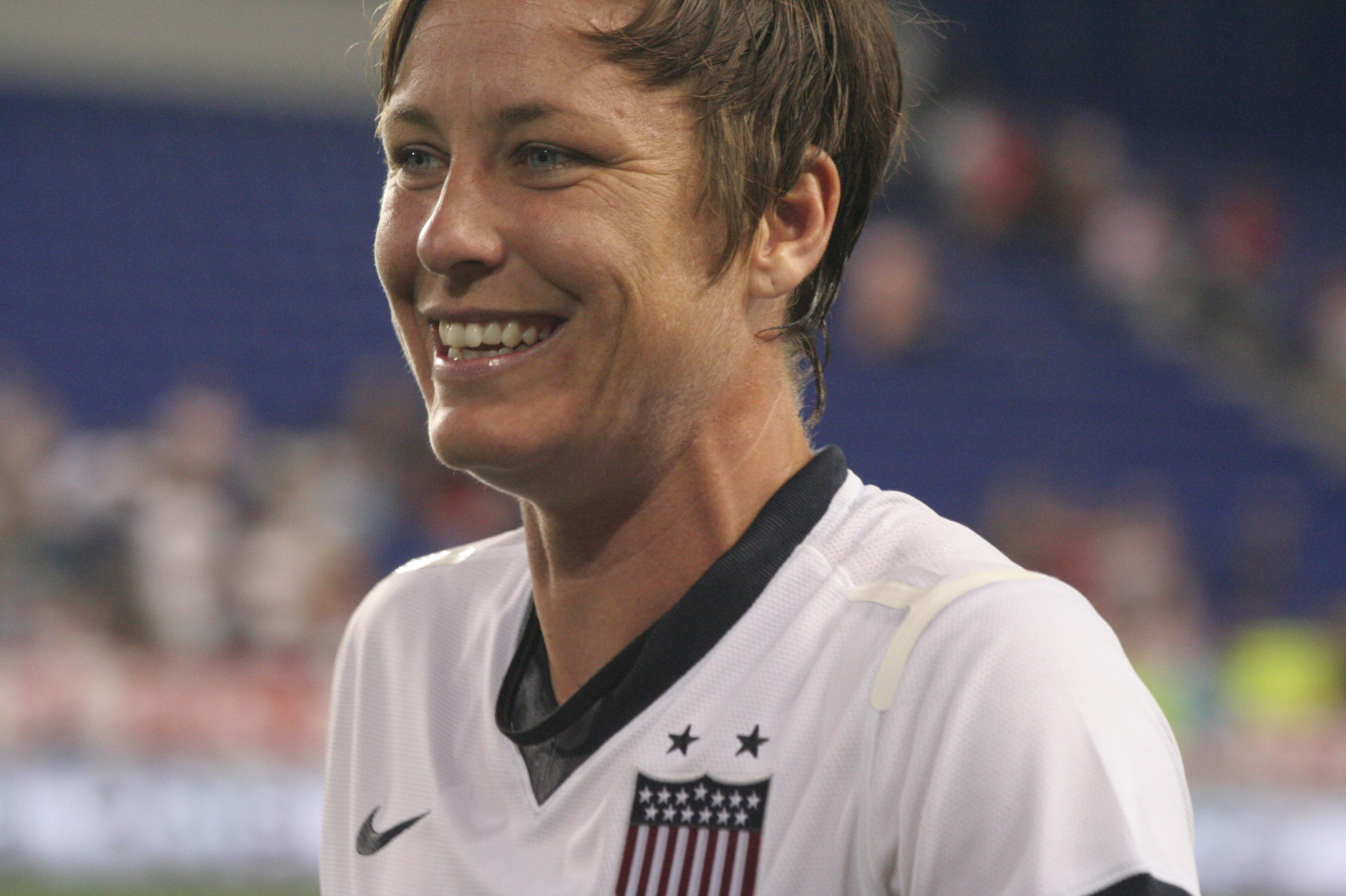 Abby Wambach scored twice as the U.S. women beat North Korea in the Algarve Cup 7th place match. (Photo Copyright Meg Linehan for The Equalizer)