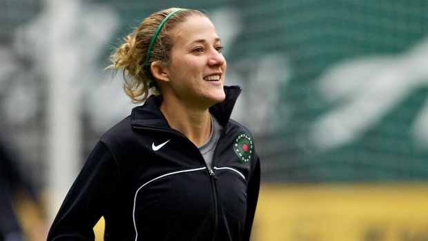 Becky Edwards was not quite ready to retire so she returned to Sweden. (Photo: Portland Thorns FC)