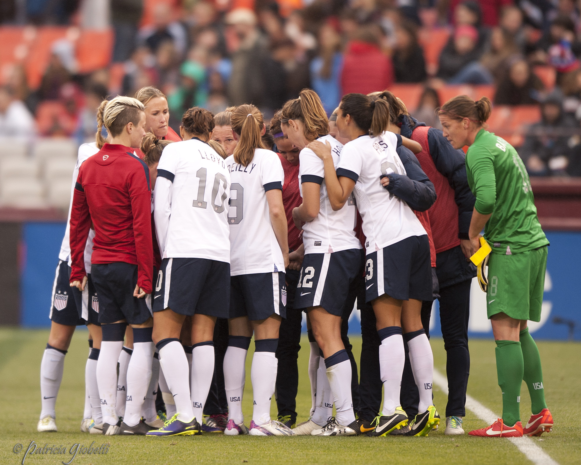 The U.S. women maintained their No. 1 spot in the FIFA women's world rankings. (Photo Copyright Patricia Giobetti for The Equalizer)