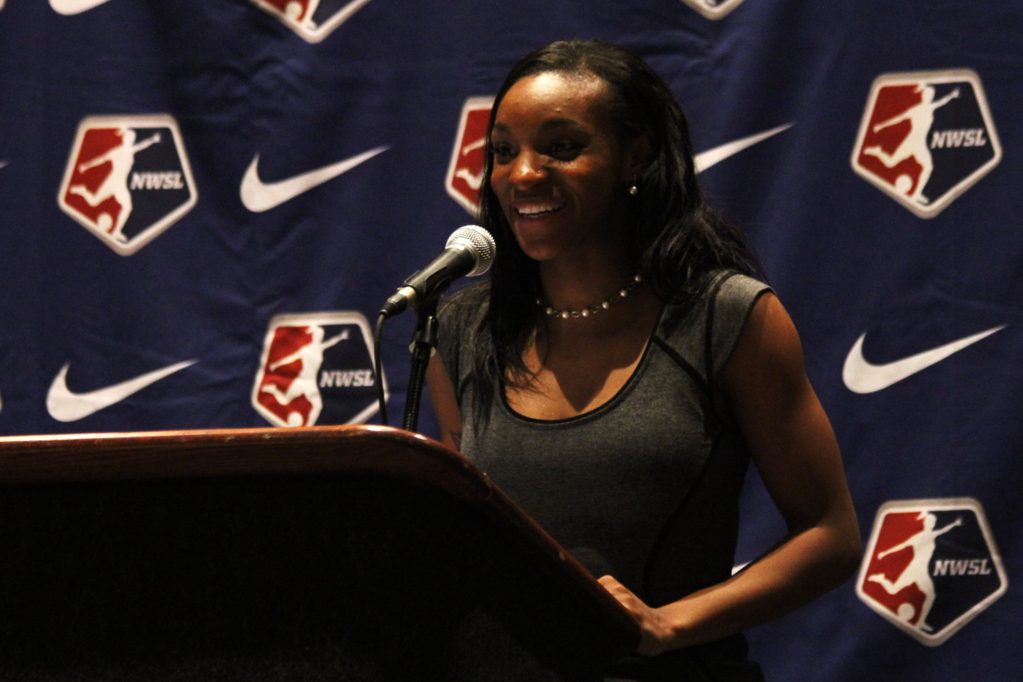 In two seasons Crystal Dunn went from No. 1 overall pick to likely NWSL MVP.  (Photo by Meg Linehan for The Equalizer)
