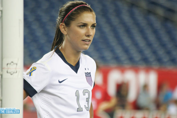 Alex Morgan has been in France and could wind up chasing a Champions League title with Lyon (Photo Copyright Meg Linehan for The Equalizer)