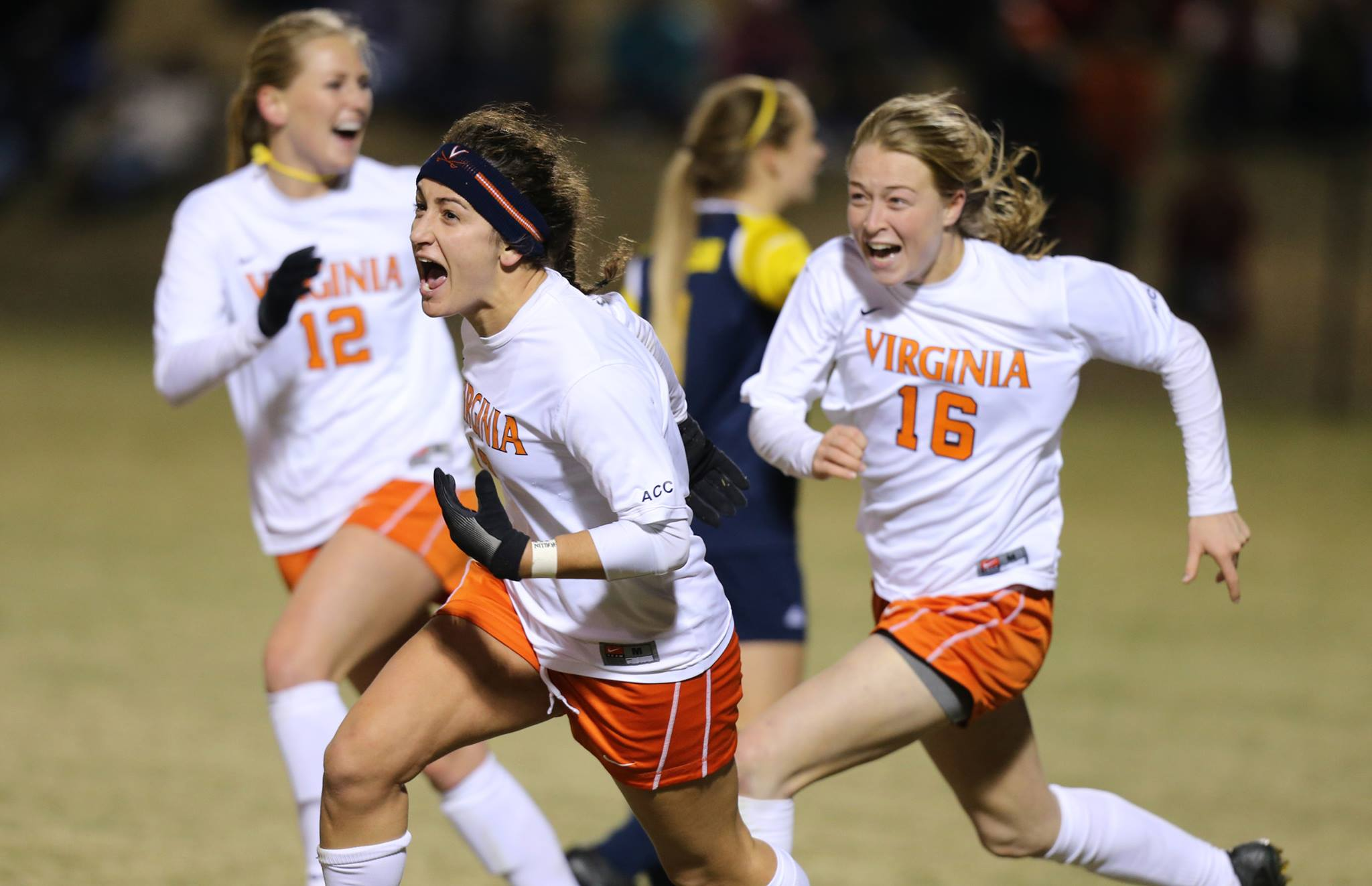 Molly Menchel was drafted by the Spirit after playing for the club's reserve team last season. Could it be a trend in the making? (Photo courtesy University of Virginia.)