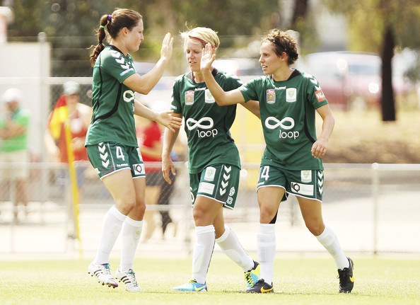 Kendall Fletcher has spent her winter in Australia with Canberra United.