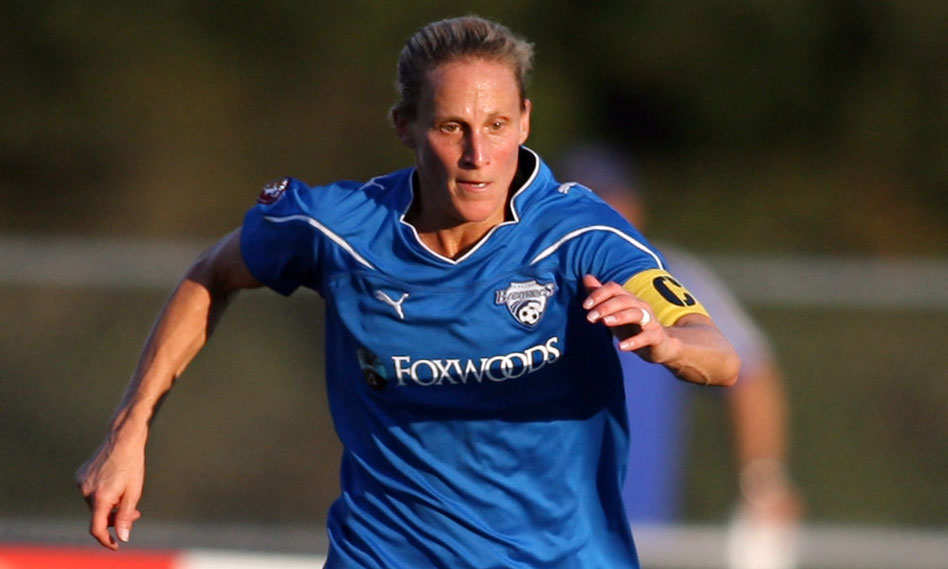 Kristine Lilly was inducted into the National Soccer Hall of Fame on Saturday. (Photo: SoccerPlus.org)