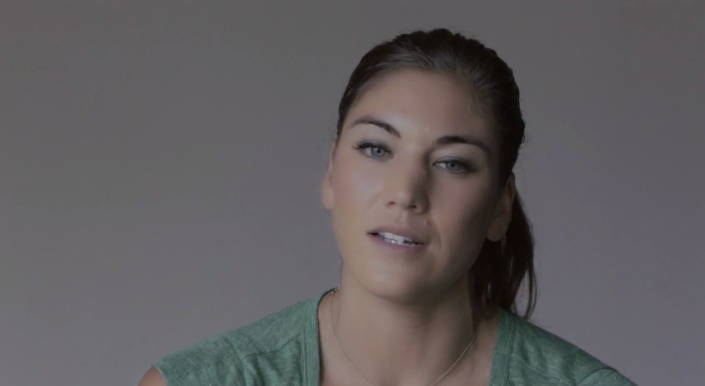 hope solo eassy In this simple, heartfelt essay, hope solo explains her special bond with abby wambach they're very different but they're very close as solo explains it.