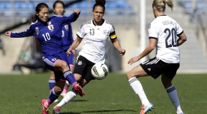 Germany dominates Japan to win Algarve Cup