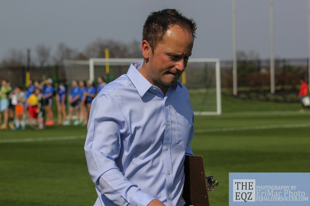"Mark Parsons will be facing ""pressure from all angles"" as coach of Portland Thorns FC. (Copyright EriMac Photo for The Equalizer)"