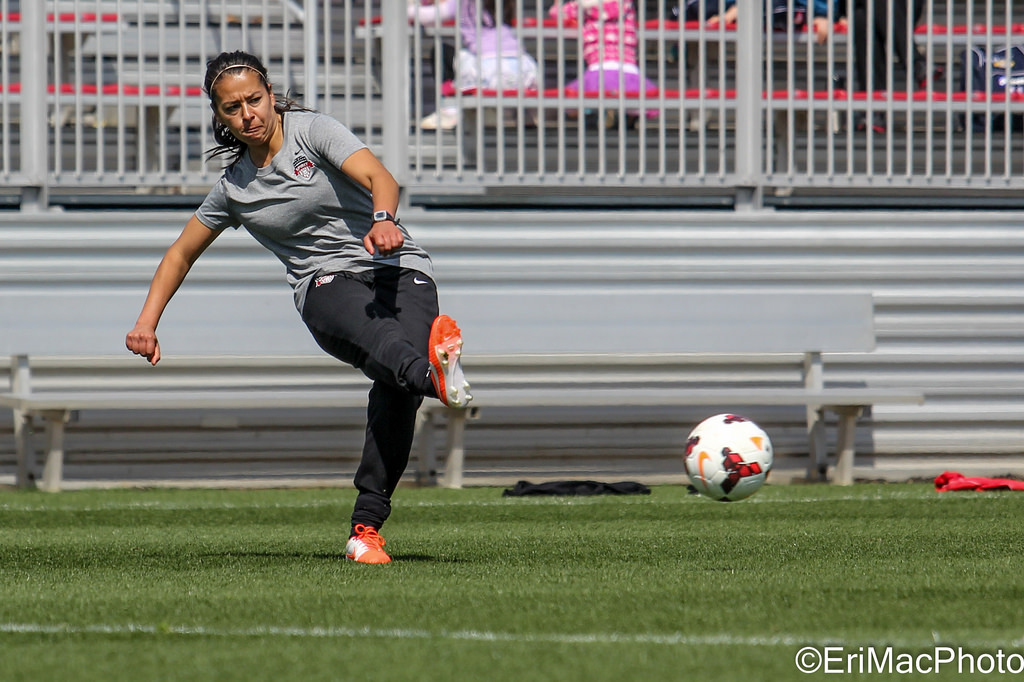 Veronica Perez was acquired by the Spirit in a preseason trade with the Flash. (Photo Copyright Erica McCaulley for The Equalizer)