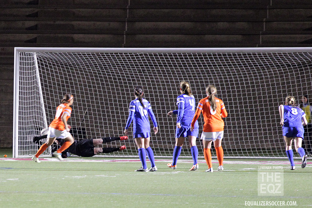 Teresa Noyola finishes the game-winning PK. (Copyright Linehan Photography for The Equalizer)