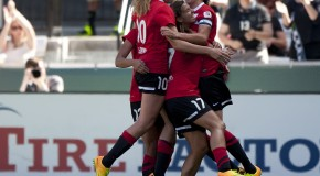 Dash dictate play, but fall to Thorns in first game