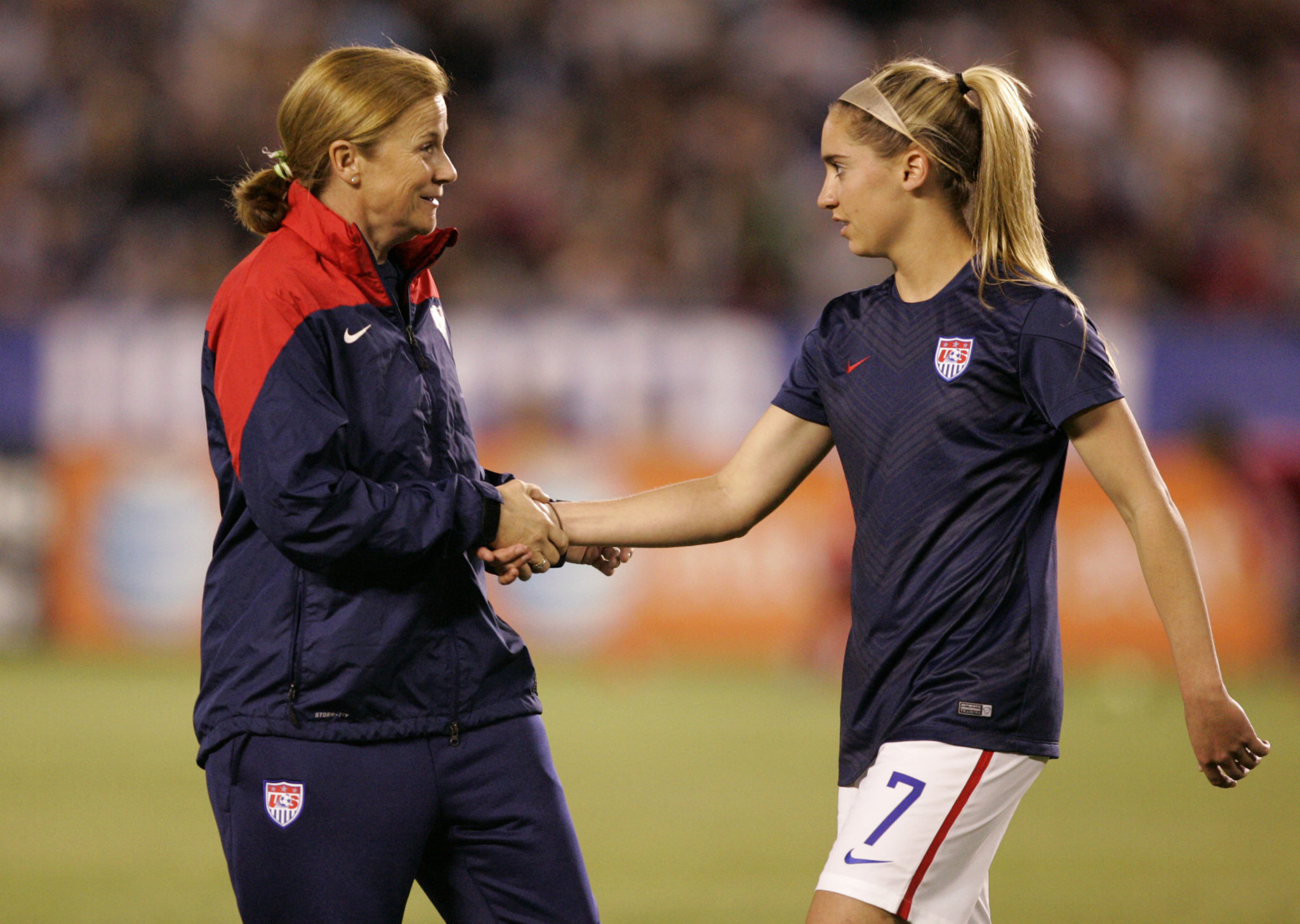 Jill Ellis has named her 19-player roster for August 20. (Photo by Kent C. Horner/Getty Images)