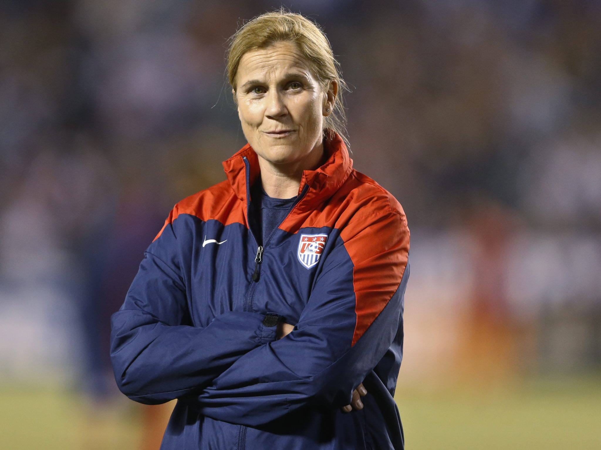 Jill Ellis has named her roster for next month's matches vs. Mexico. (AP Photo/Lenny Ignelzi)