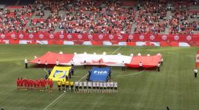 Lotzen, Laudehr lift Germany past Canada as Herdman starts four teenagers