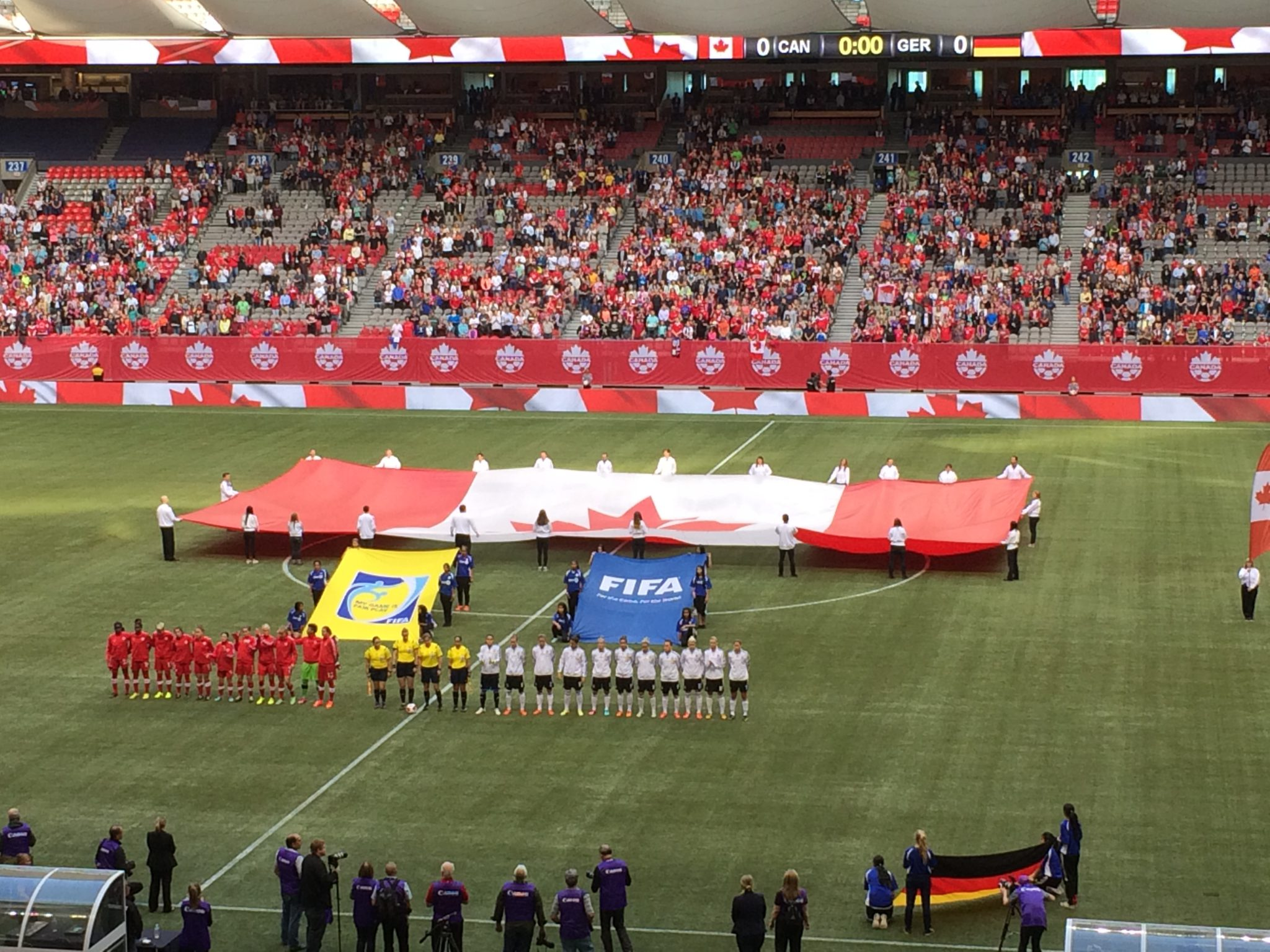 BC Place in Vancouver will host the 2015 Women's World Cup final. It is one of six venues that will be used, all featuring artificial turf. (Photo Copyright Harjeet Johal for The Equalizer)