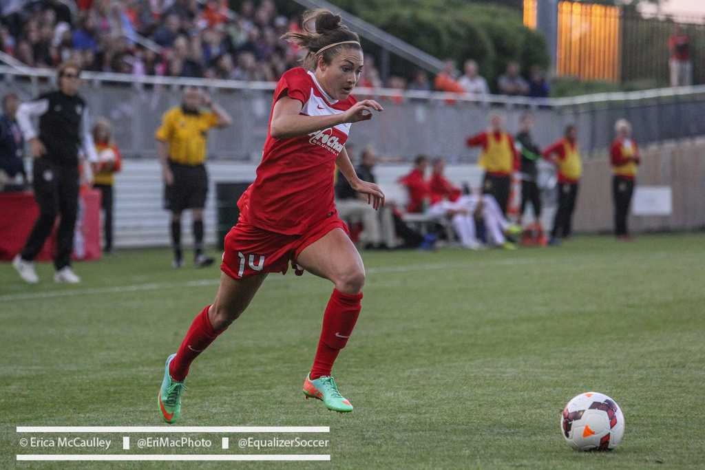 Jodie Taylor is out three weeks after a procedure on her right knee. (Photo Copyright Erica McCaulley for The Equalizer)