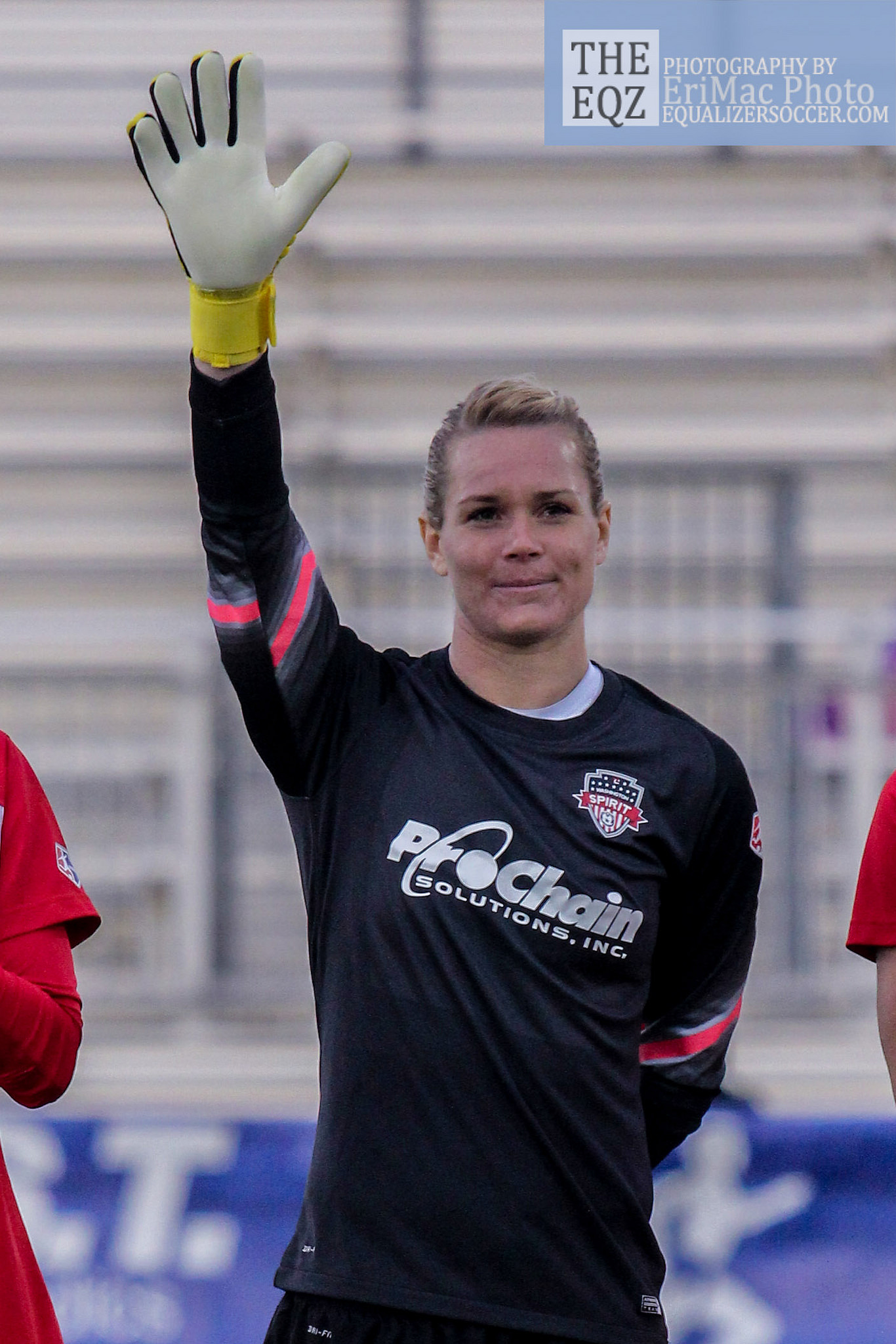 Ashlyn Harris has won her second CONCACAF Goalkeeper of the Year honor.   (Photo Copyright Erica McCaulley for The Equalizer)