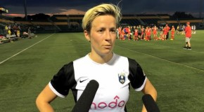 Rapinoe hat trick leads Reign's romping of Flash