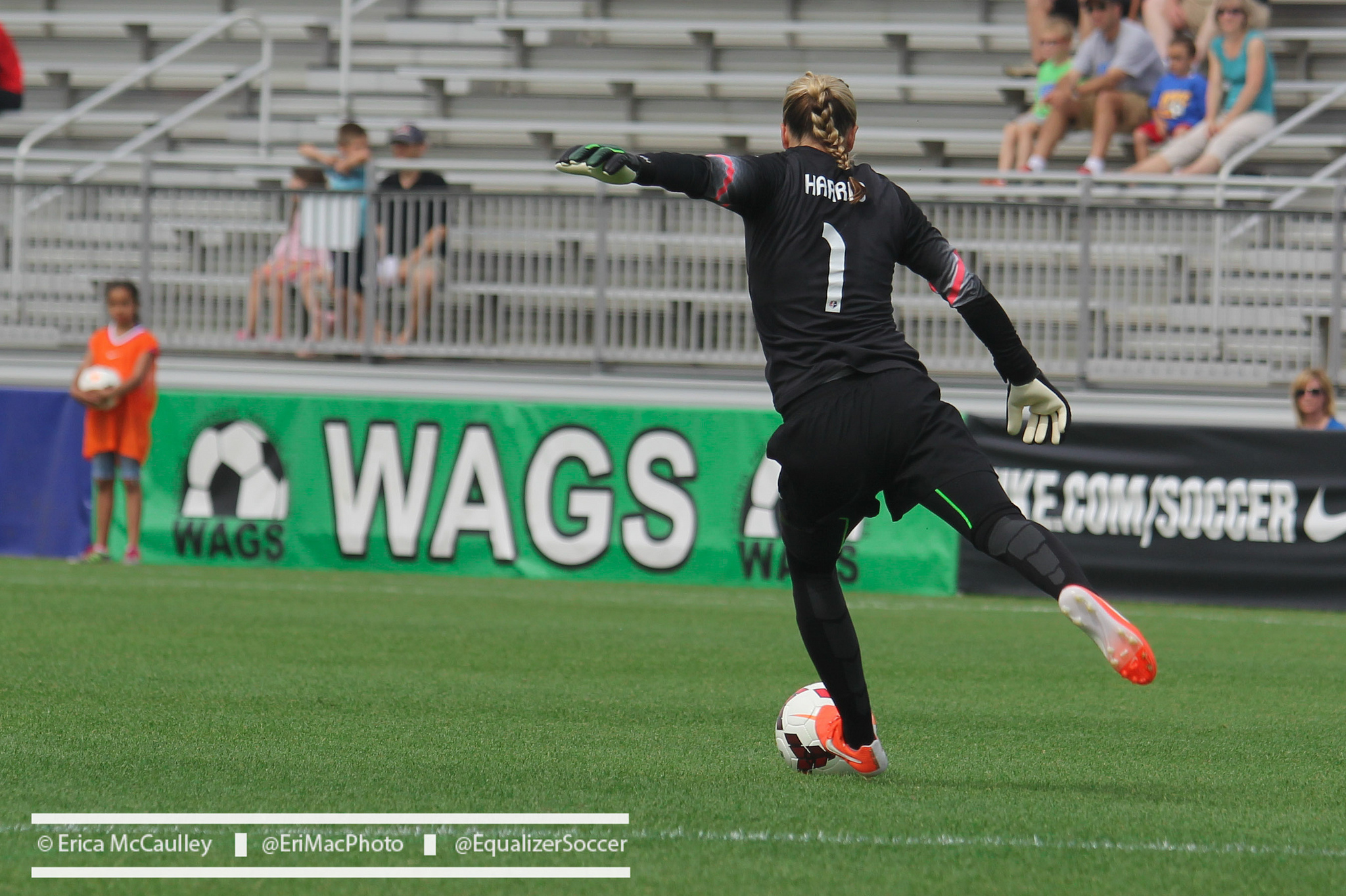 Ashlyn Harris says she is happy to be home in Orlando. (Photo Copyright Erica McCaulley for The Equalizer)