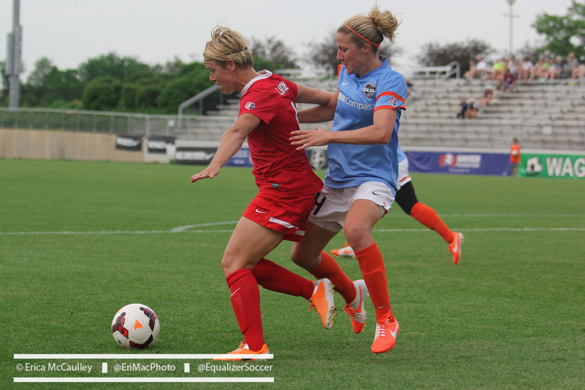 Becky Edwards (right) will return to Houston next season. (Photo Copyright Erica McCaulley for The Equalizer)