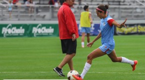 Press scores twice, Red Stars rally late to tie Flash, keep playoff hopes alive