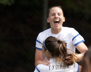 Amy Rodriguez has scored all three of FC Kansas City's goals in their two trips to the final (Photo Copyright Patti Giobetti for The Equalizer)