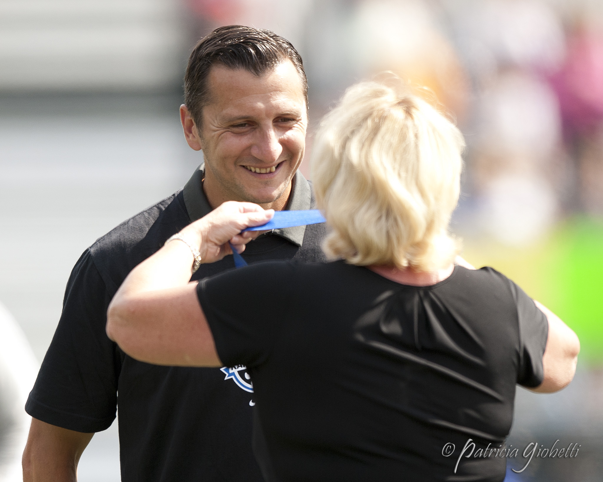 Vlatko Andonovski and FC Kansas City will be looking to send Lauren Holiday into retirement with another title. (Photo Copyright Patricia Giobetti for The Equalizer)