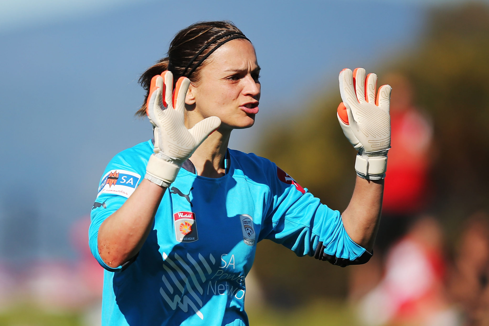 Australia veteran GK Melissa Barbieri says the W-League keeps getting better. (Getty Images)