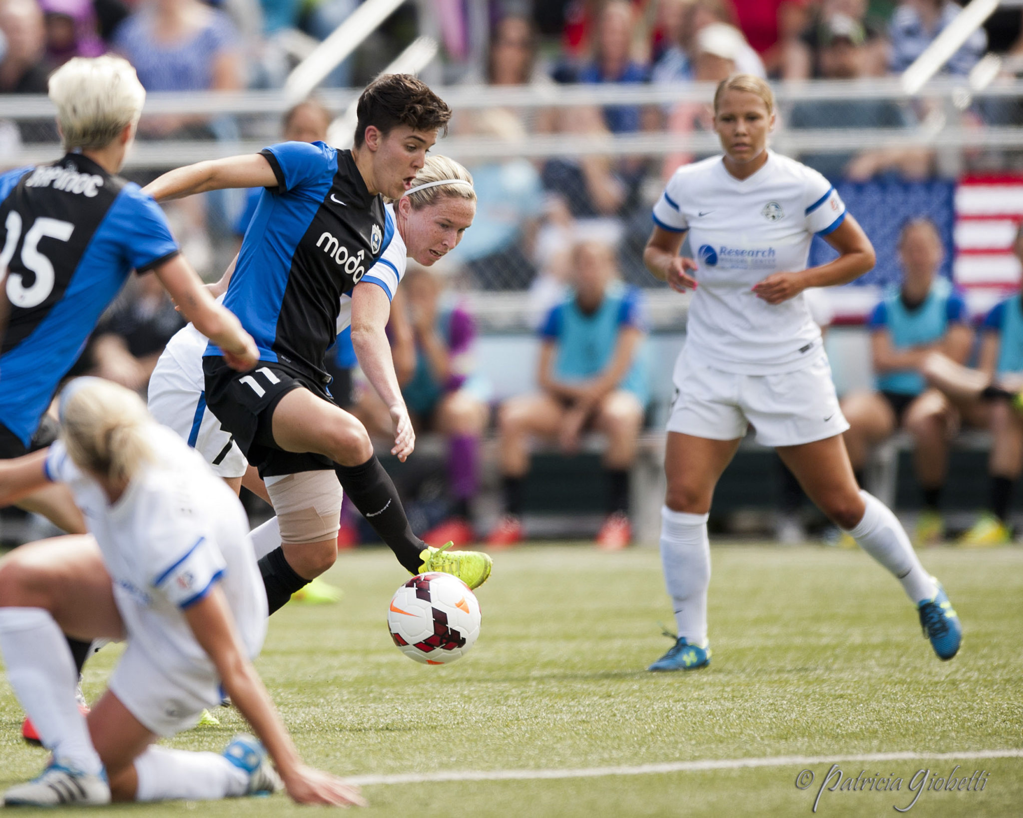 Seattle Reign FC captain Keelin Winters will retire at the end of the NWSL season. (Photo Copyright Patricia Giobetti for The Equalizer)