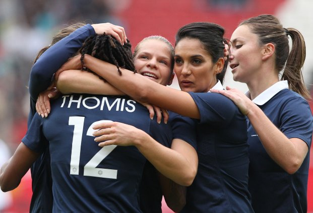 France beat Germany in November to cap off an incredible year. (Photo: France Football Federation)