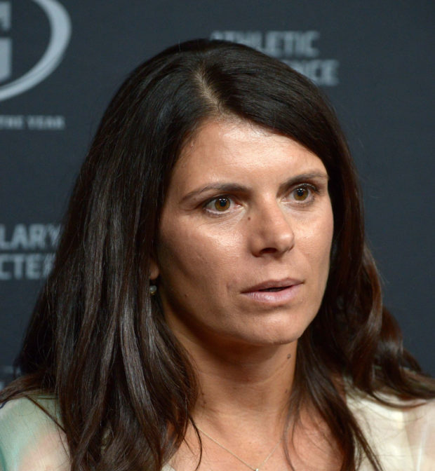 Mia Hamm and LAFC are headed to NWSL according to a repoty by Charles Boehm (USA Today Images)