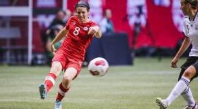 Canada midfielder Matheson has torn ACL