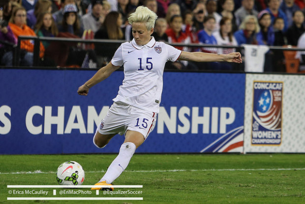 Will Tuesday finally be the day Megan Rapinoe sees the field again? (Photo Copyright Erica McCaulley for The Equalizer)