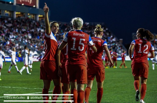 USWNT midfield remains narrow in win over Norway