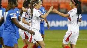 Costa Rica thumps Martinique for perfect group record