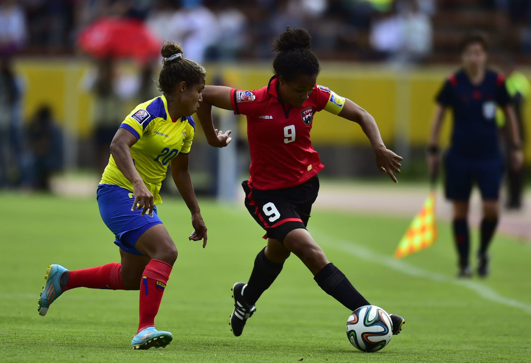 Ecuador beat Trinidad and Tobago, 10 on aggregate to advance to the Women's World Cup. (Getty Images)