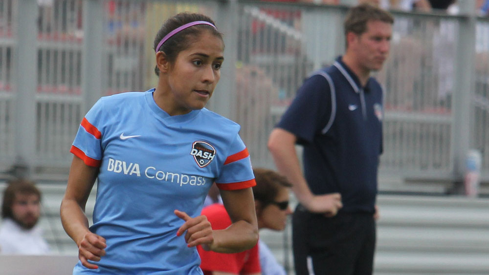 Arianna Romero is now a member of the Washington Spirit. (Photo Copyright Erica McCaulley for The Equalizer)