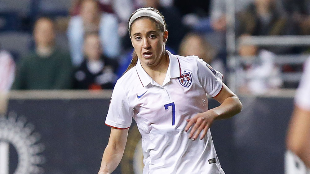 The Houston Dash selected Morgan Brian first overall in the NWSL Draft. (USA Today Images)