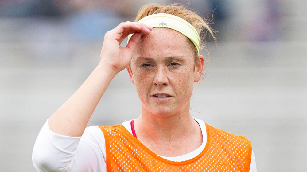 Ashley Nick's Dash stint was a short one.  The club traded her to the Flash for Toni Pressley. (USA Today Images)