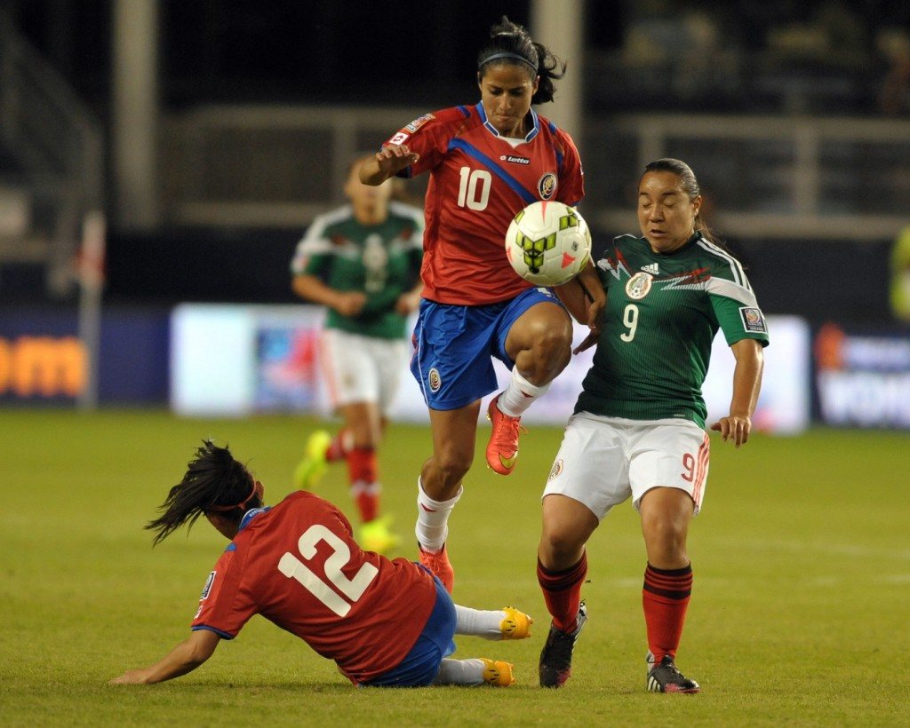 Costa Rica and Mexico might both need to be happy with just being at the World Cup in 2015. (USA Today Images)