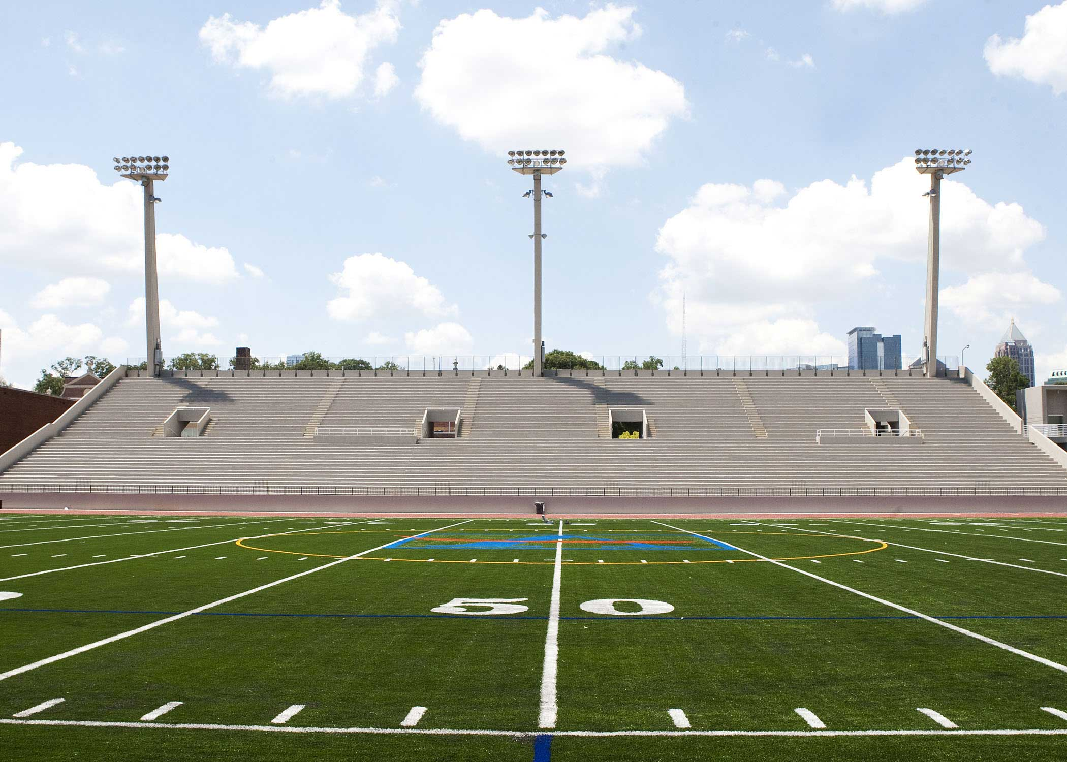 Grady Stadium is the proposed home of a would-be Atlanta NWSL expansion team.