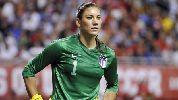 Hope Solo stood tall again in the USWNT victory over France on Saturday. (AP Images)