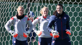 Solo uncertainty leaves USWNT inexperienced in net