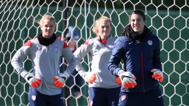 Hope Solo has played every minute of the last two Olympic Games and the last World Cup. (AP Photo)