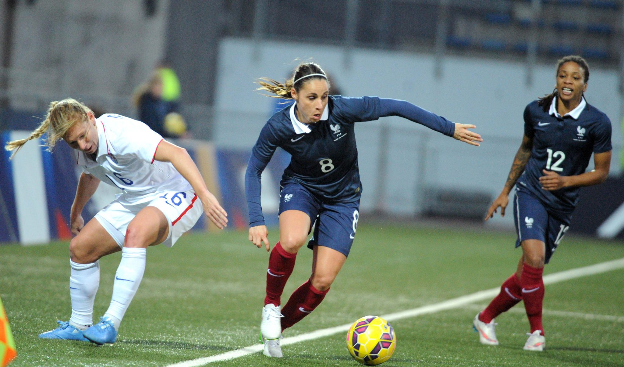 France picked apart the U.S. in the midfield and defensively on Sunday. (Getty Images)