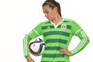 PHOTOS: Mexico unveils new green World Cup kit