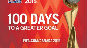 2015 Women's World Cup now 100 days away